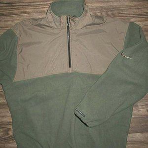 Mens Sz Medium Nike Golf Therma Fit Fleece 1/4 Zip